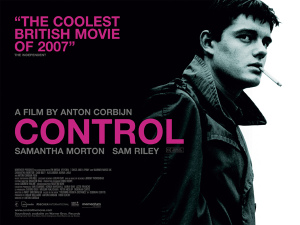 Control movie poster onesheet