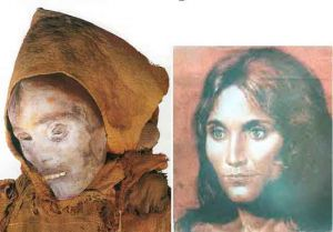 The Beauty of Loulan  the Chinese mummy