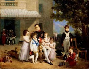 Jean-Louis Ducis - Napoleon and His Family at Saint-Cloud 1810