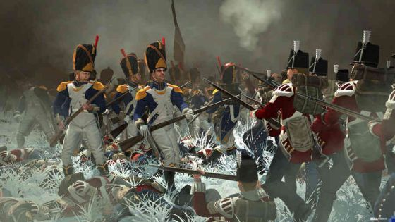 napoleon  total war-pcscreenshots18198shot 02 close-up snow a