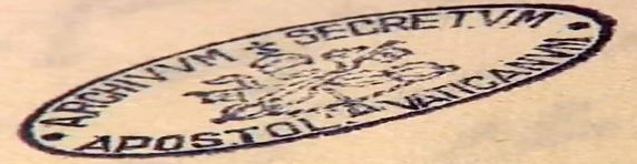 stamp-from-a-doc-in-vatican-secret-archive малка